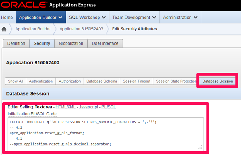 FOEX Global NLS Number Format Change